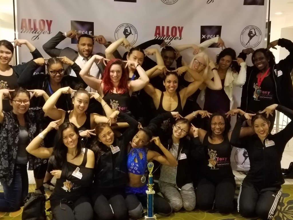 Pole Sport Organization Atlantic Pole Championships 2016 Foxy Fitness Team